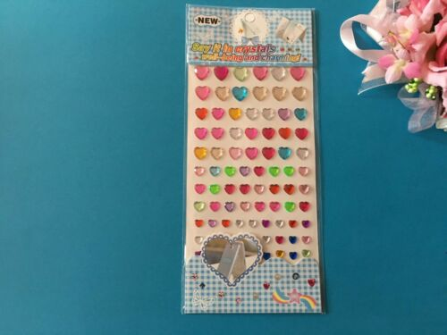 GEM ADESIVI Autoadesivo Gemma foglio fai da te Home Decor artigianato Cardmaking Scrapbook