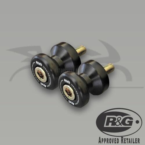Suzuki GSXR1000 /& GSXR1000R R/&G Racing Cotton Reels Paddock Stand Bobbins