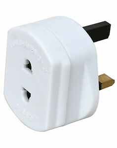 3x-Electric-Shaver-Razor-Adaptor-Toothbrush-Plug-Socket-Converter-2-To-3-Pin-1A