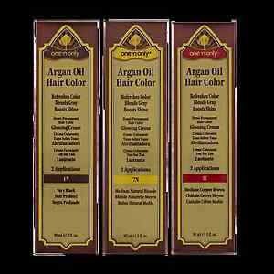 One N Only Argan Oil Hair Color Demi Permanent Glossing
