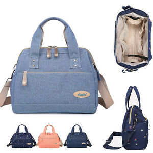 Water-Resistant-Small-Baby-Diaper-Bag-Nappy-Tote-Shoulder-bag-Changing-Bag-Purse