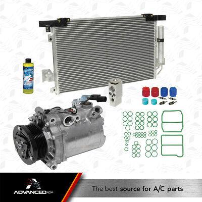 New A//C Condenser Kit Fits 2008 2009 2010 Mitsubishi Lancer L4 2.0L Non Turbo