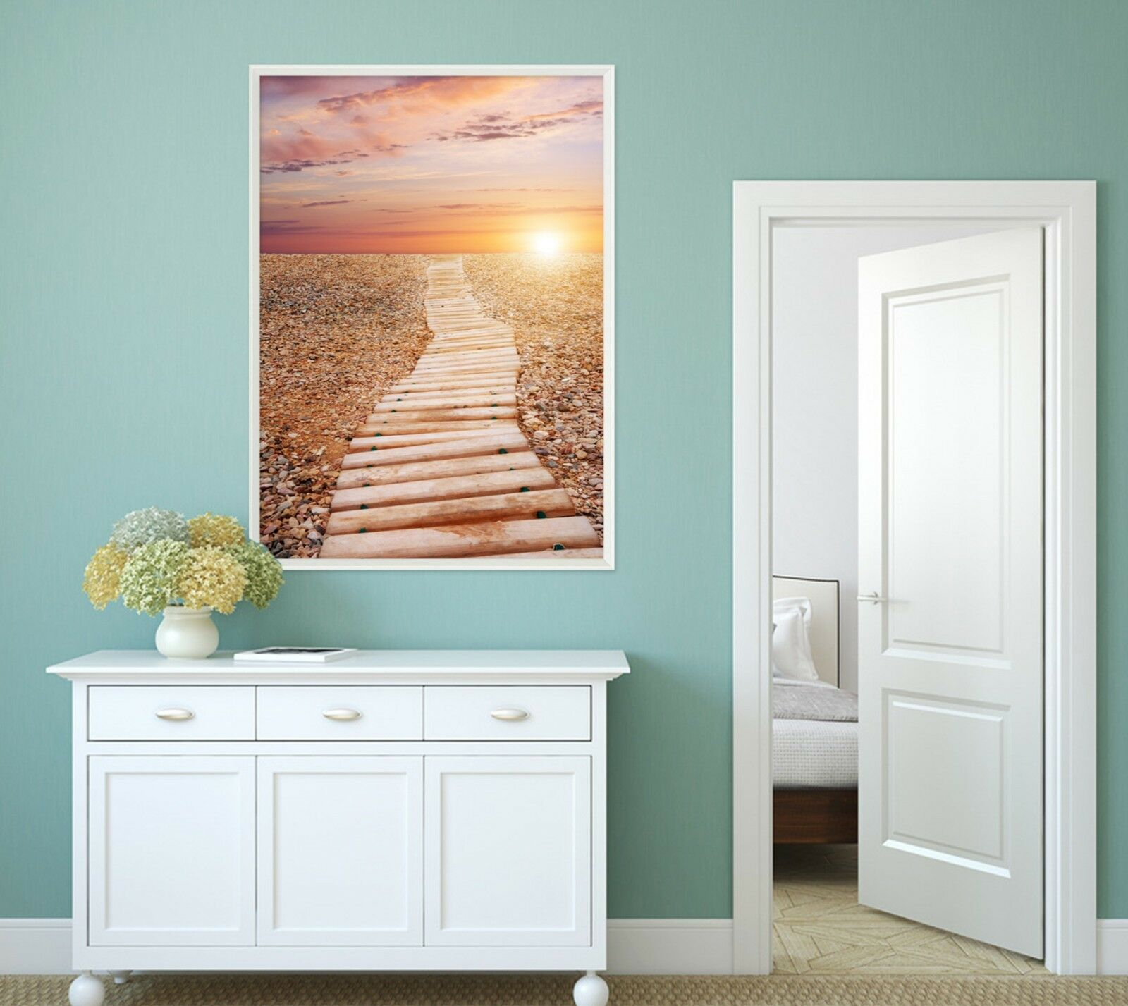 3D Sunlight Aisle 665 Fake Framed Poster Home Decor Print Painting Unique Art