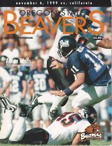 Oregon-State-Beavers-Official-Program-1999-Magazine-Aaron-Wells