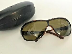 40eae6564f1 Image is loading NEW-PRADA-Designer-Sunglasses-Brown-Wrap-Butterfly-SPR-