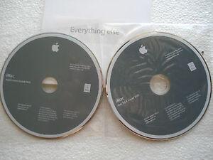 Details about Apple iMac Restore Install Disks DVD OSX Snow Leopard 10 6 2  & Applications DVD