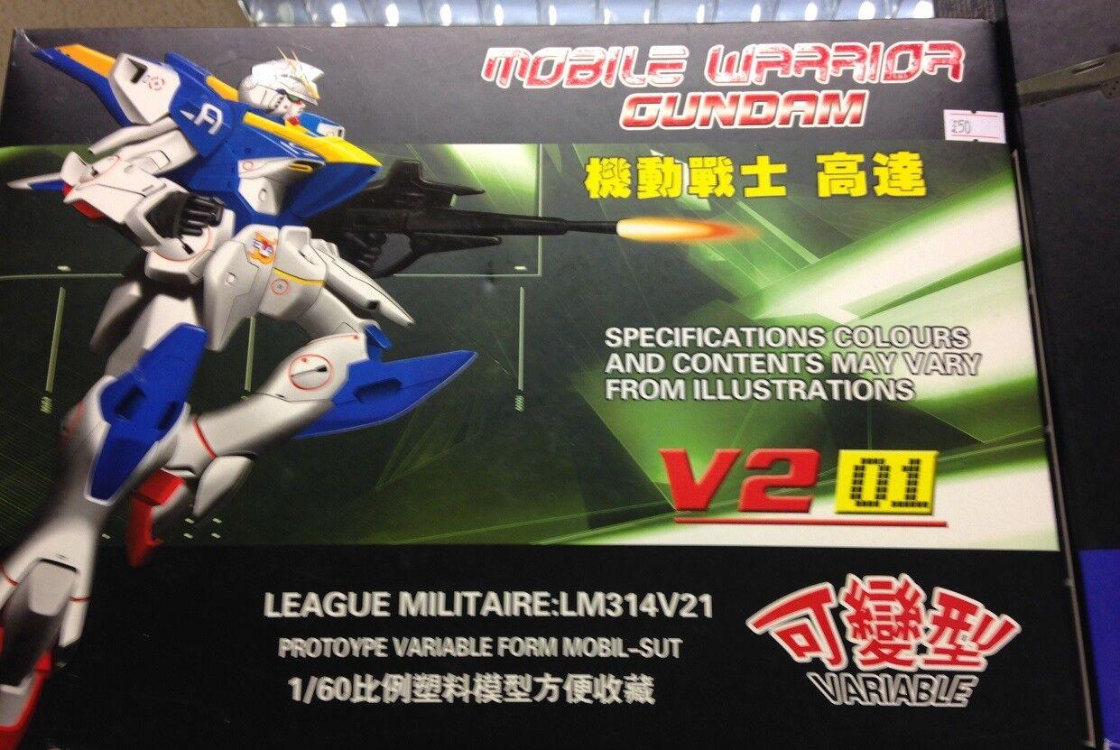 Mobile Warrior Gundam V2 01  LM314V21 Predoype Form Mobil Suit. New and Unused.