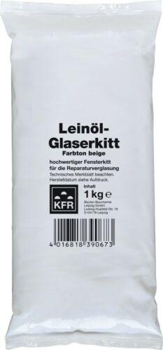 Hochwertiger Fensterkitt 1,0 kg für dauerhafte Verglasungen und Reparaturen