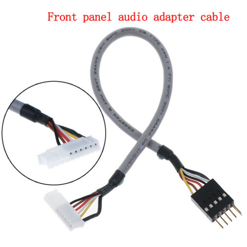 Front panel audio adapter cable for creative sound card SB0460 SB0350 SB0610 HS