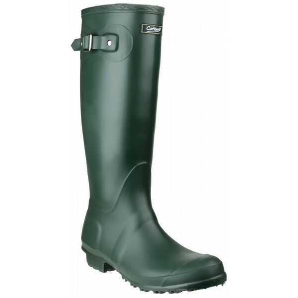 Cotswold SANDRINGHAM Womens Ladies Tall Waterproof Wellington Boots Green