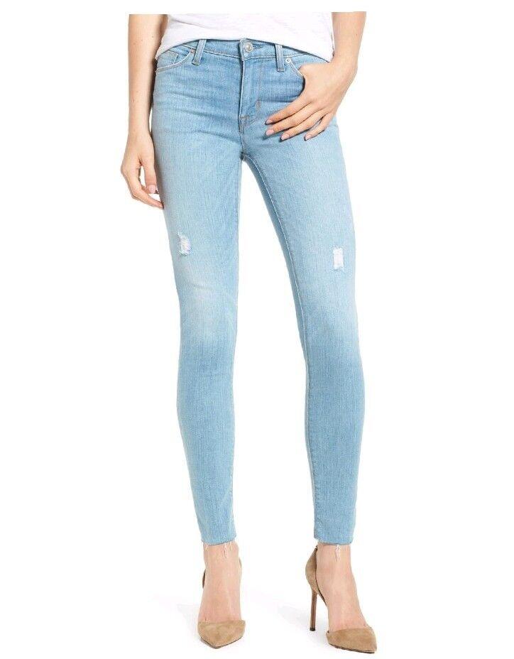 Hudson Nico Ankle Super Skinny Jeans 28