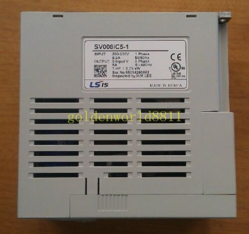 NEW LS inverter SV008iC5-1 0.75KW//220V good in condition for industry use