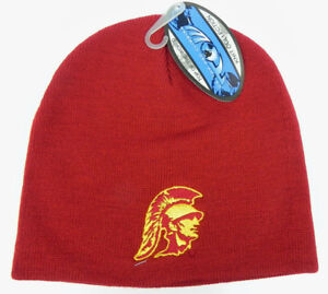 2dae921b86a USC TROJANS SOUTHERN CAL NCAA BEANIE TOP OF THE WORLD SIMPLE KNIT ...