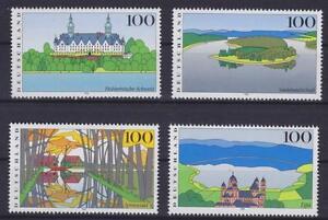 Bund-Mi-Nr-1849-1852-Bilder-Deutschlands-IV-1996-postfrisch-MNH