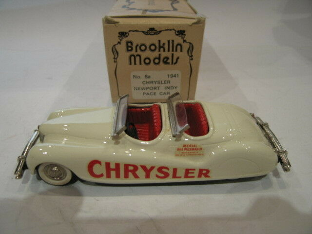 1 43 BROOKLIN 8A CHRYSLER NEWPORT INDY PACE CAR 1941