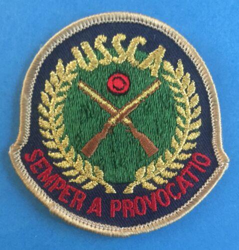 Sporting Clays Association Patch Crest 389R Rare Vintage 1960/'s USSCA U.S