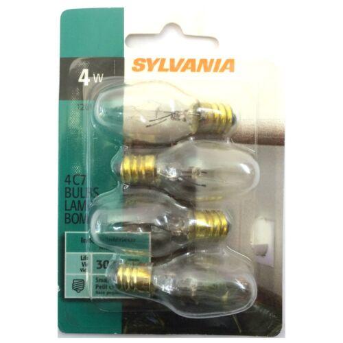SYLVANIA NIGHT LIGHT APPLIANCE LIGHT BULB Assorted Colors Watt