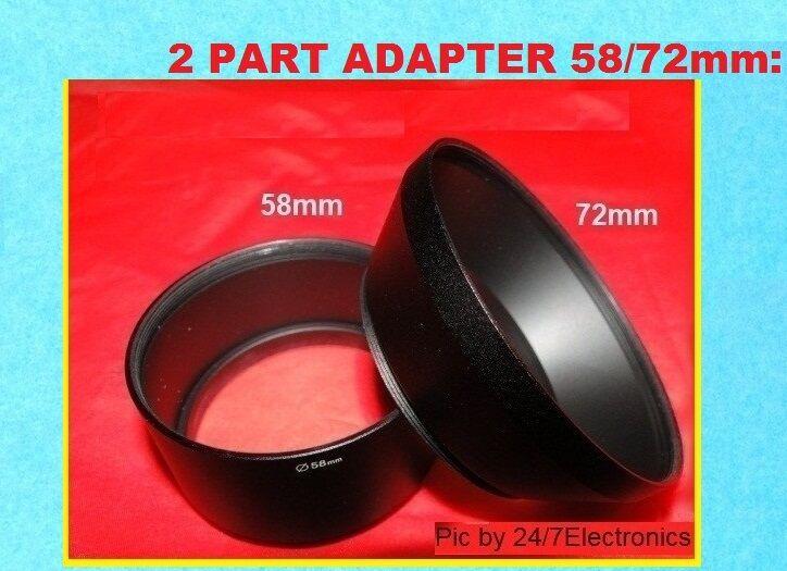 s6700 Adaptador la-72s6850t s4600 s6800 s6850 Tubus para Fujifilm finepix s6600