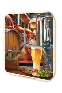 Nostalgic Wall Clock Alcohol Retro Deco  Beer Acrylglas  4059081027228