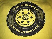 NEW Rolling Record Store XS Shirt Jack White Stripes Third Man Records 2013 TMR