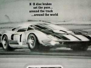 Image Is Loading  Ford Gt Kelsey Hayes Disc Brake Original