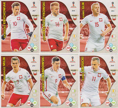 PANINI FIFA WORLD CUP Russia 2018 ADRENALYN XL Egypte cartes pour sélectionner