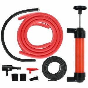 Details about Syphon Transmission Oil Liquid Water Diesel Fuel Air Hand  Pump Extractor Tool