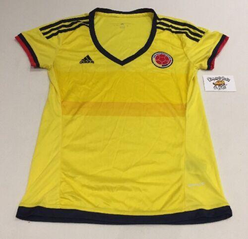 ff4caca44 Womens Adidas Colombia football 2015 Soccer Jersey Shirt Medium  COPA  AMERICA