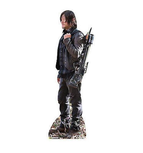 Walking Dead Amc Daryl Dixon Walker Lifesize Standup Cardboard Cutout 2087