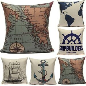Retro europe style cushion cover throw pillow case home for Vintage hotel decor