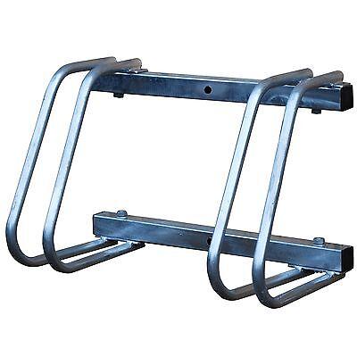 Gastfreundlich Double Bike Rack (galvanised Steel, Wall Or Floor Mounting)