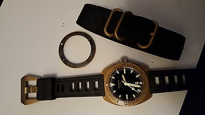 Armida A7 Brass Mens Divers Watch - Not common, unavailable from Armida
