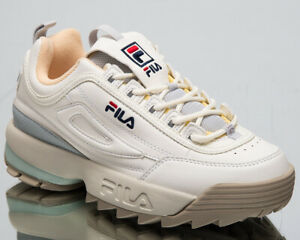 Details about Fila Disruptor CB Low Womens Marshmallow Sneakers Chunky Shoes 1010604 02X