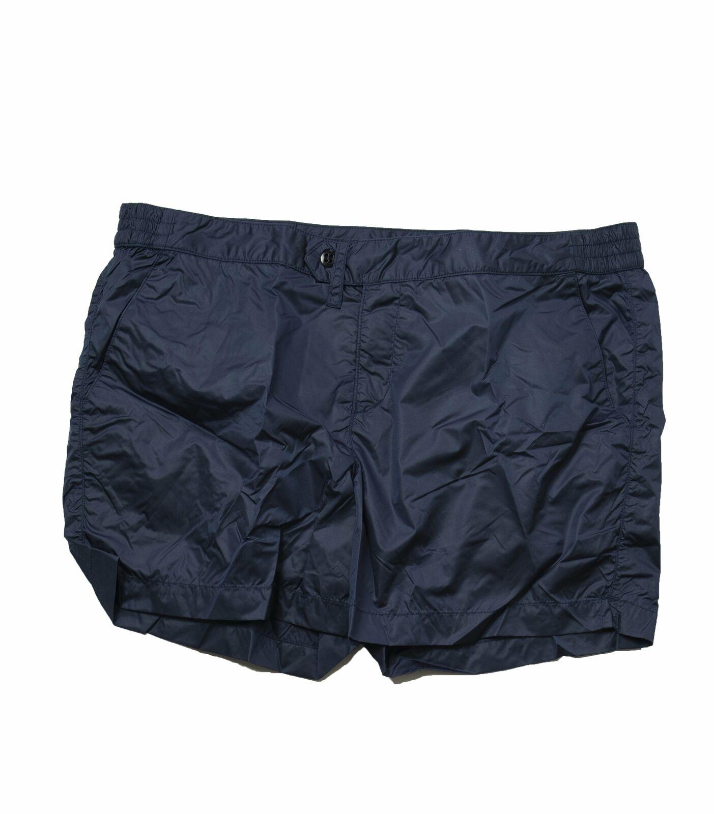 BOGLIOLI Solid bluee Swim Shorts  Made in