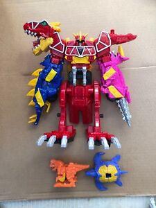 Power Rangers Dino Charge Megazord et petits supports de chargeur, comme illustré sur la photo 2