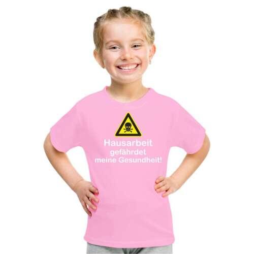 Enfants T-shirt Travail Domestique compromet ma santé brosser excuse Argent De poche