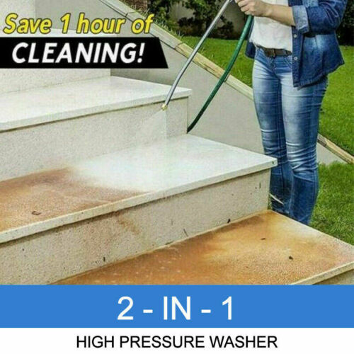 High Pressure Power Car Water Washer Wand Nozzle Spray For Cleaning Sidewalks