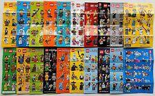 LEGO® Minifigur Serie 1 - 16 + 4 Extraserien = 20 Beipackzettel, Figurenposter