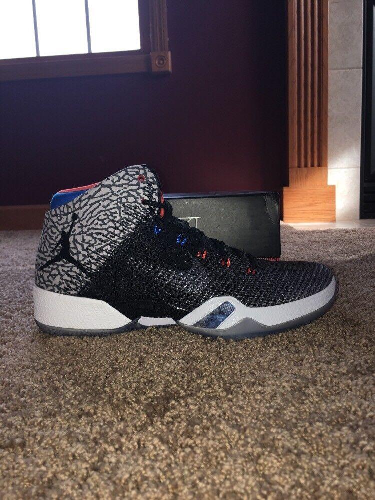 "Air Jordan XXXI ""Why Not"" Größe 10.5 AA9794 003 Cement grau schwarz-dark grau"