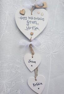 Image Is Loading PERSONALISED GRANDMA Gran Granny Birthday Present 60 70