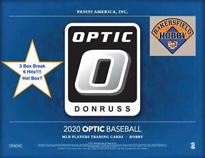 🔥⚾ DETROIT TIGERS - 2020 Optic Baseball - 3 Hobby Box Break - 6 Hits! ⚾🔥