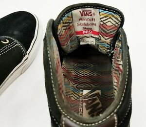 Vans Off The Wall Pro Mid Black Men s Shoes Size 8.5 Nice  beb114b65