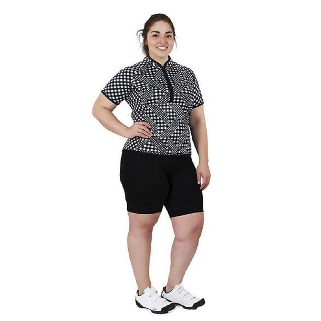 Pantalones cortos de ciclismo para mujer Shebeest Ultimo Talla Grande