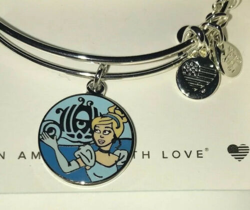 Disney Parks Alex and Ani Cinderella Have Courage and Be Kind Bracelet New