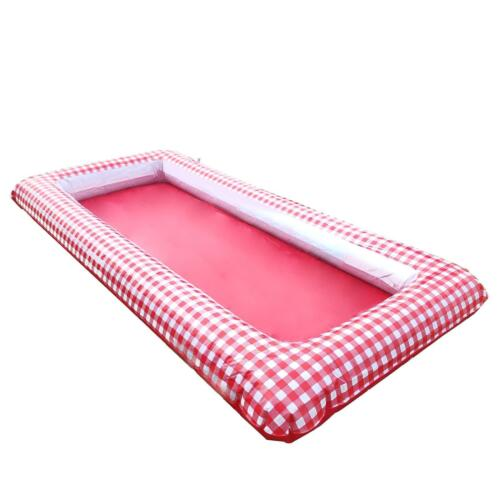 Red Gingham Picnic BBQ Large Party Birthday Inflatable Outside Ice Bath Cooler