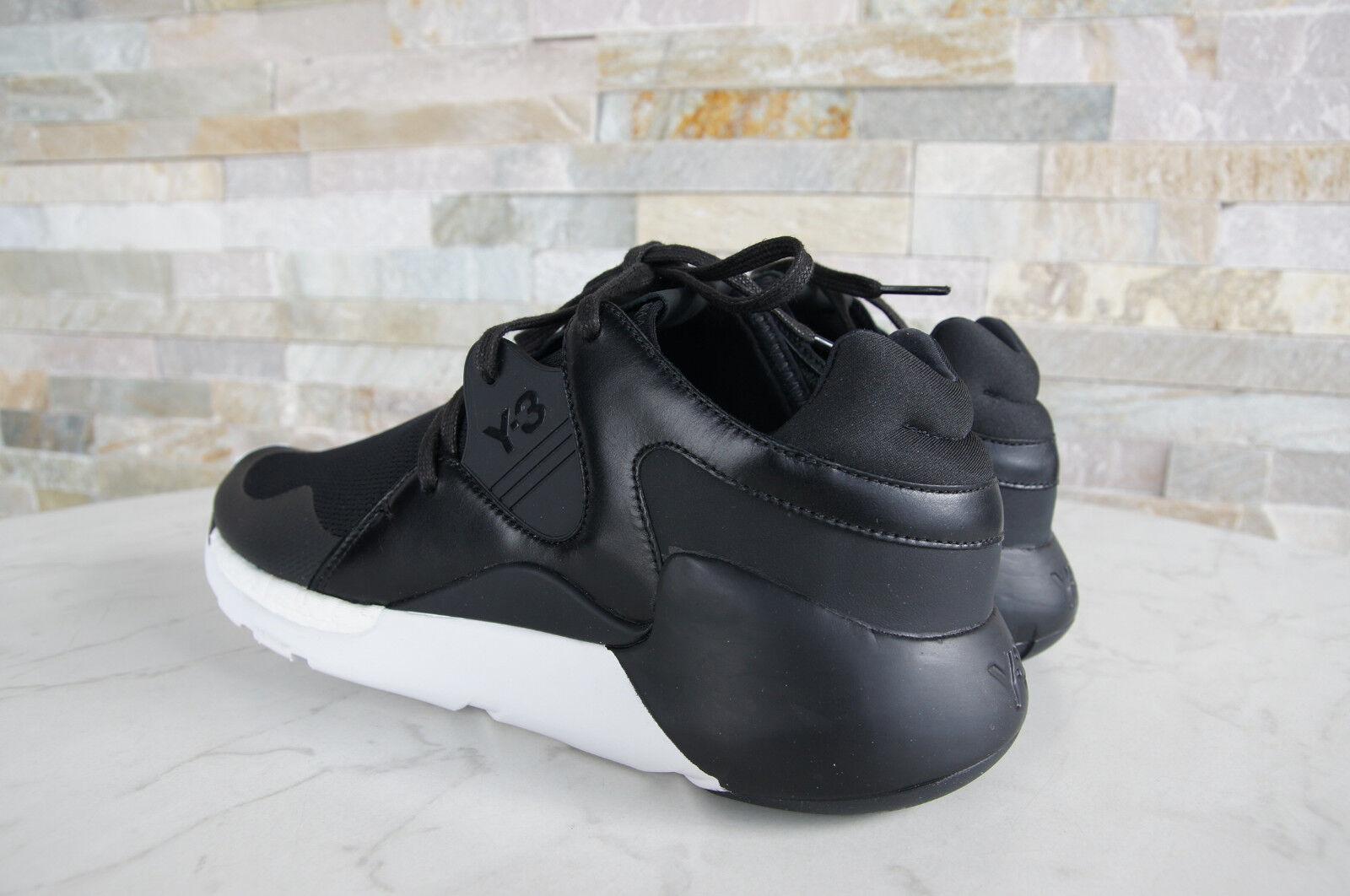 Y3 Y-3 Adidas Yamamoto Grand 44 Royaume-Uni 10 10 Royaume-Uni Baskets Bottes Qr Courir Noir fa465a