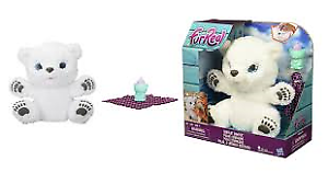 Fur Real Friends Snifflin Sawyer - Polar Bear - Interactive Toy - BRAND NEW