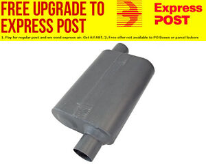 Flowmaster-40-Series-Delta-Flow-Muffler-2-1-2-034-Offset-Inlet-Offset-Outlet