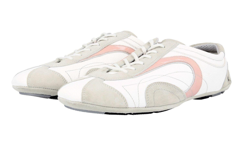 zapatos PRADA LUXUEUX 3E3361 rosado rosado rosado NOUVEAUX 40,5 41 UK 7.5  respuestas rápidas