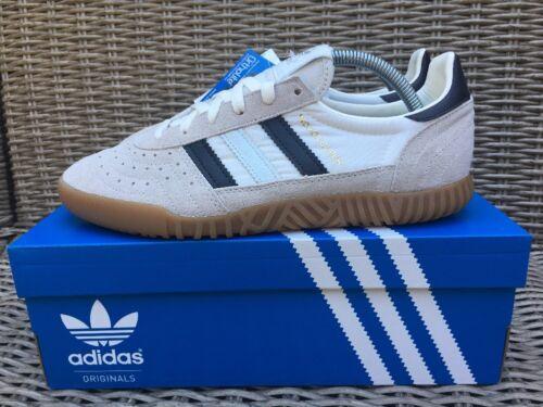 anni '80 Football Indoor Casual White Vintage Size Retro Adidas Bnib Super 8 Y84wq0H